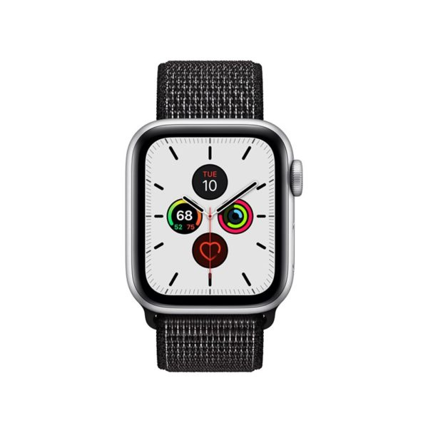 Crong Reflex Band - Pasek sportowy Apple Watch 42/44 mm (czarny)