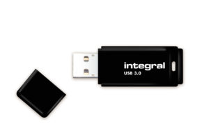 Integral Black USB 3.0 Flash Drive - Pendrive USB 3.0 128 GB