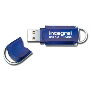 Integral Courier USB 3.0 Flash Drive - Pendrive USB 3.0 64 GB 140/90 MB/s