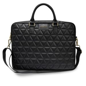 "Guess Quilted Computer Bag - Torba na notebooka 15"" (czarny)"