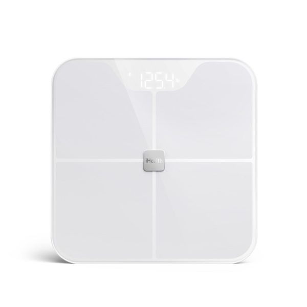 iHealth FIT Smart Scale - Inteligentna waga z pomiarem BMI iOS/Android (Bluetooth 4.0)