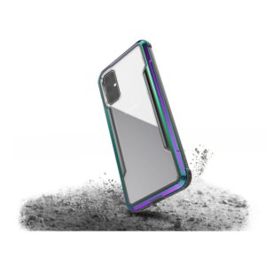 X-Doria Defense Shield - Etui aluminiowe Samsung Galaxy S20 (Drop test 3m) (Iridescent)
