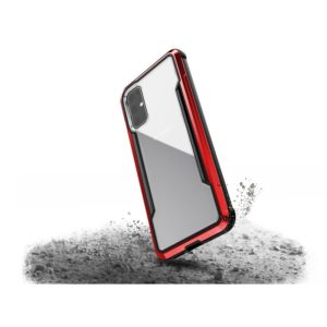X-Doria Defense Shield - Etui aluminiowe Samsung Galaxy S20 (Drop test 3m) (Red)