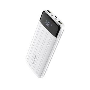Borofone - power bank 20 000 mAh 74Wh wyświetlacz LCD aluminiowa obudowa