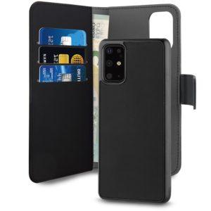 PURO Wallet Detachable - Etui 2w1 Samsung Galaxy S20+ (czarny)