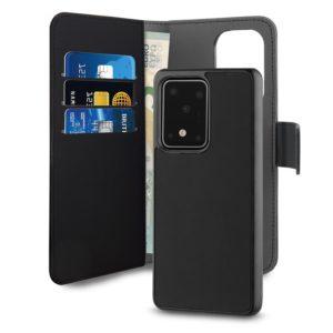 PURO Wallet Detachable - Etui 2w1 Samsung Galaxy S20 Ultra (czarny)