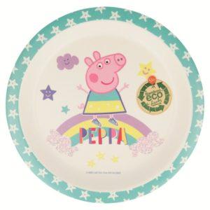 Peppa Pig - Talerzyk bambusowy