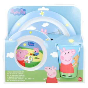 Peppa Pig - Zestaw naczyń (Talerz