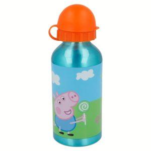 Peppa Pig - Butelka aluminiowa (400 ml)