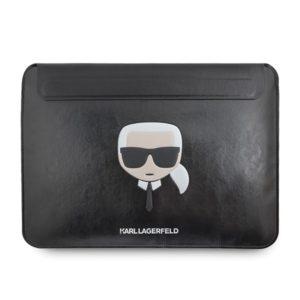 """Karl Lagerfeld Ikonik Sleeve  - Etui na notebooka 13"""" (Czarny)"""