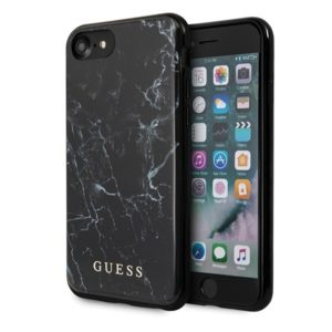 Guess Marble - Etui iPhone 8 / 7 (Black)