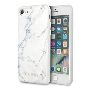 Guess Marble - Etui iPhone 8 / 7 (White)
