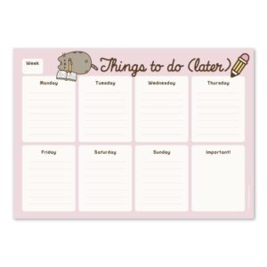 Pusheen - Planner tygodniowy na biurko
