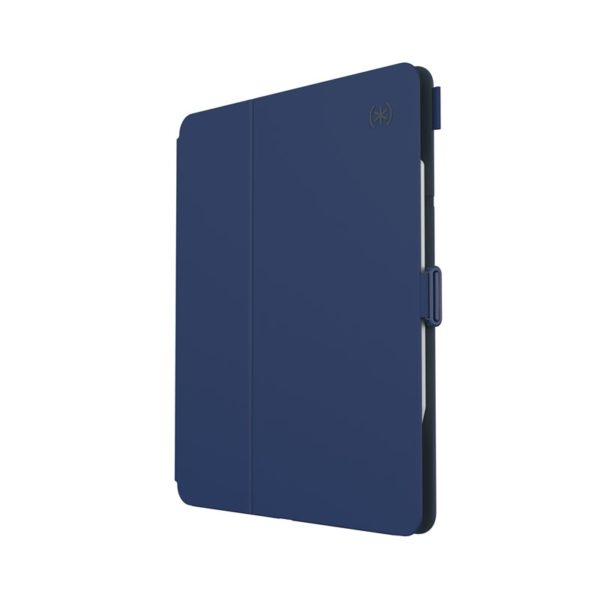 "Speck Balance Folio - Etui iPad Pro 11"" (2020/2018) w/Magnet & Stand up z uchwytem Apple Pencil (Coastal Blue/Charcoal Grey)"