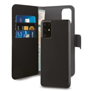 PURO Wallet Detachable - Etui 2w1 Huawei P40 Pro (czarny)