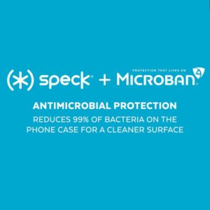 Speck Presidio Perfect-Clear with Grips - Etui iPhone 11 Pro Max z powłoką MICROBAN (Clear)