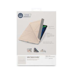 "Moshi VersaCover - Etui origami iPad Pro 11"" (2020/2018) z ładowaniem Apple Pencil (Savanna Beige)"