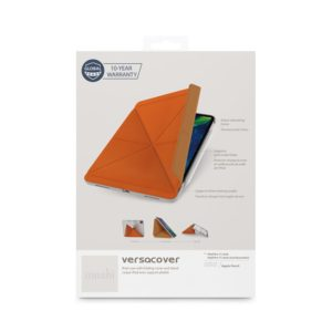"Moshi VersaCover - Etui origami iPad Pro 11"" (2020/2018) z ładowaniem Apple Pencil (Sienna Orange)"