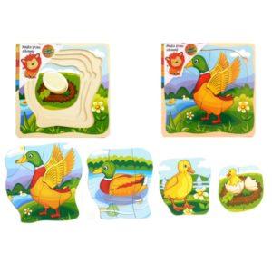 Top Bright - Puzzle warstwowe kaczka