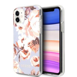 Guess Flower Shiny Collection N2 - Etui iPhone 11 (Lilac)