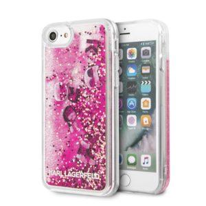Karl Lagerfeld Glitter Floatting Charms Case - Etui iPhone SE 2020 / 8 / 7