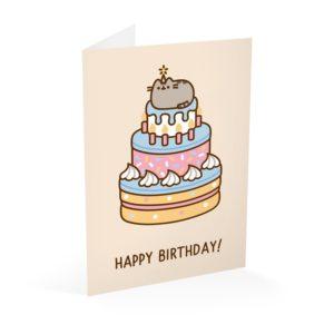 Pusheen - Kartka urodzinowa