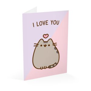 Pusheen - Kartka I Love You
