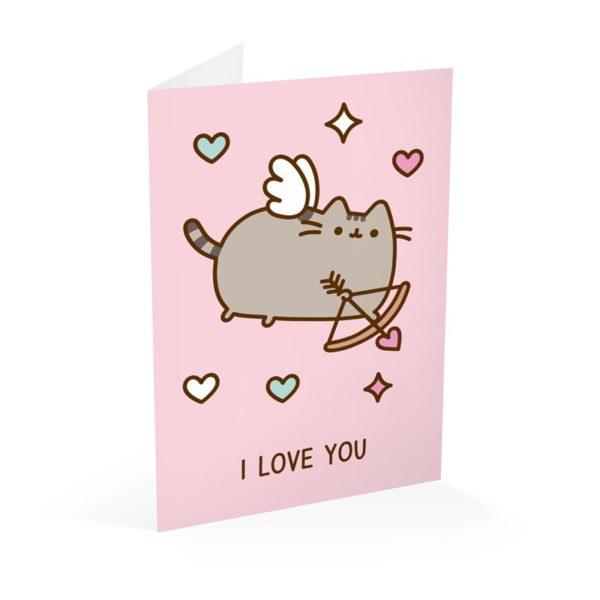 Pusheen - Kartka I Love You