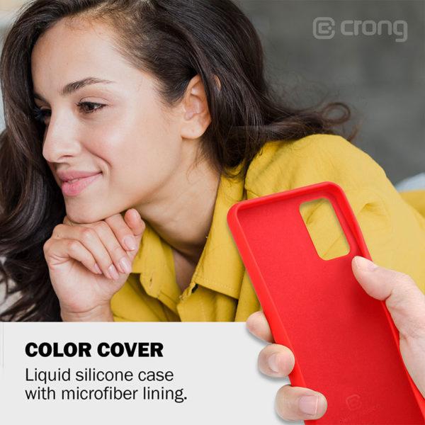 Crong Color Cover - Etui Samsung Galaxy A51 (różowy)