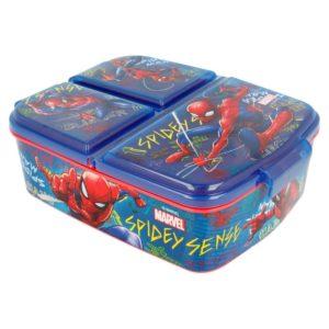Spiderman - Lunchbox z przedziałkami