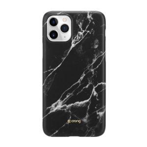 Crong Marble Case – Etui iPhone 11 Pro (czarny)