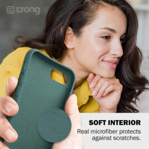 Crong Color Cover - Etui iPhone SE 2020 / 8 / 7 (zielony)