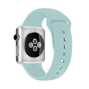 Crong Liquid Band - Pasek do Apple Watch 42/44 mm (miętowy)