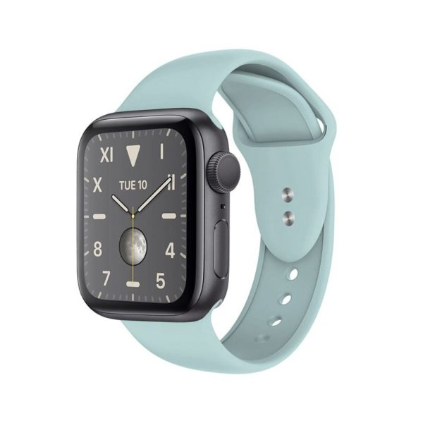 Crong Liquid Band - Pasek do Apple Watch 42/44 mm (miętowy)