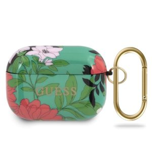 Guess Flower Collection N1 - Etui Airpods Pro (Green)