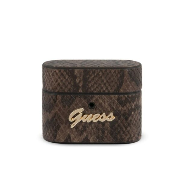 Guess Python Collection - Etui Airpods Pro (brązowy)