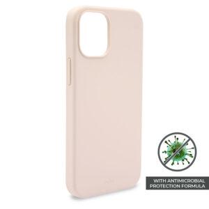 PURO ICON Anti-Microbial Cover - Etui iPhone 12 Pro Max z ochroną antybakteryjną (różowy)