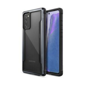 X-Doria Raptic Shield - Etui aluminiowe Samsung Galaxy Note 20 (Drop test 3m) (Black)