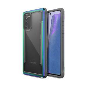 X-Doria Raptic Shield - Etui aluminiowe Samsung Galaxy Note 20 (Drop test 3m) (Iridescent)