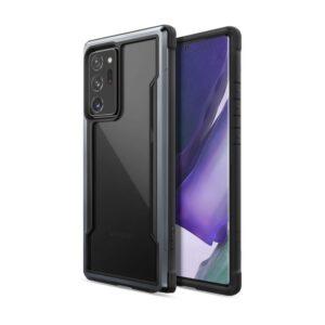 X-Doria Raptic Shield - Etui aluminiowe Samsung Galaxy Note 20 Ultra (Drop test 3m) (Black)