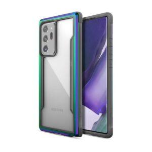 X-Doria Raptic Shield - Etui aluminiowe Samsung Galaxy Note 20 Ultra (Drop test 3m) (Iridescent)