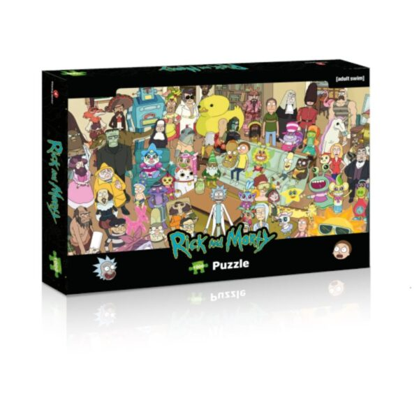 Rick and Morty - Puzzle  1000 el.