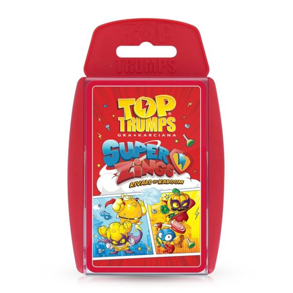 Super Zings - Gra Karciana  Top Trumps