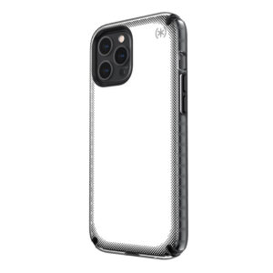 Speck Presidio2 Armor Cloud - Etui iPhone 12 Pro Max z powłoką MICROBAN (Clear/Black)