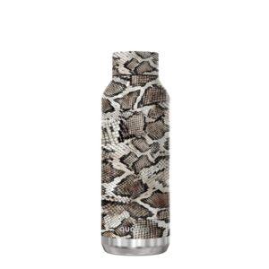 Quokka Solid - Butelka termiczna ze stali nierdzewnej 510 ml (Snake Print)