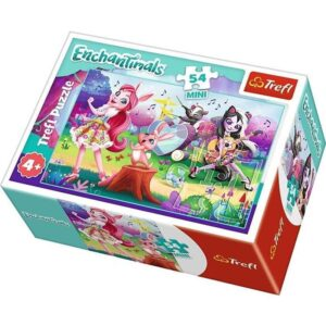 Trefl - Puzzle Enchantimals Mini  54 ele.