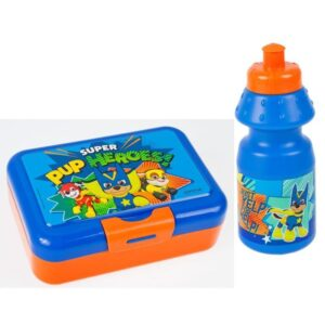 Paw Patrol - Zestaw lunchowy (Bidon plus pudełko na śniadanie)