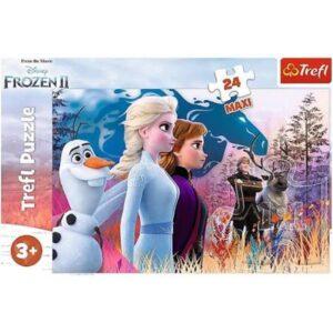 Trefl - Puzzle Frozen 2 Magiczna wyprawa Maxi 24 ele.