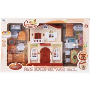 Mega Creativ - Domek dla lalek plus akcesoria