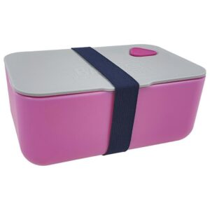 Pudełko Śniadaniowe w kolorze różowym